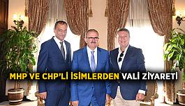 MHP ve CHP'li isimlerden Vali ziyareti