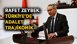 Rafet Zeybek: Türkiye'de adalet trajikomik