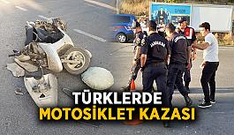 Türklerde motosiklet kazası