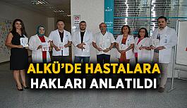 ALKÜ'de hastalara hakları anlatıldı