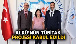 ALKÜ'nün Tübitak projesi kabul edildi
