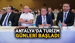 Antalya'da turizm günleri başladı
