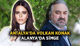 Antalya'da Volkan Konak, Alanya'da Simge