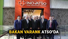Bakan Varank ATSO'da