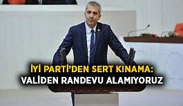 İYİ Parti'den sert kınama: Validen randevu alamıyoruz