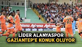 Lider Alanyaspor, Gaziantep'e konuk oluyor