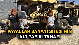 Payallar Sanayi Sitesi'nin alt yapısı tamam