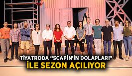 """Tiyatroda """"Scapin'in Dolapları"""" ile sezon açılıyor"""