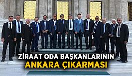 Ziraat Oda Başkanlarının Ankara çıkarması
