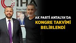 AK Parti Antalya'da kongre takvimi belirlendi