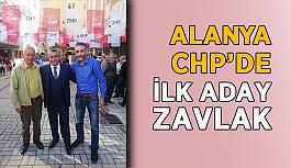 Alanya CHP'de ilk aday Zavlak