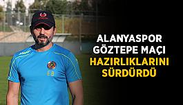 Alanyaspor, Göztepe maçı hazırlıklarını sürdürdü