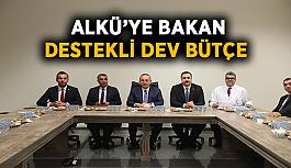 ALKÜ'ye Bakan destekli dev bütçe