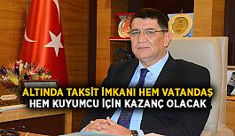 """""""Altında taksit imkanı hem vatandaş hem kuyumcu için kazanç olacak"""""""