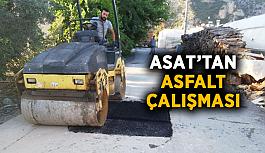 ASAT'tan asfalt çalışması