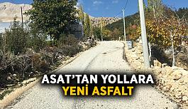 ASAT'tan yollara yeni asfalt