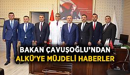 Bakan Çavuşoğlu'ndan ALKÜ'ye müjdeli haberler