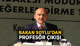 Bakan Soylu'dan profesör çıkışı