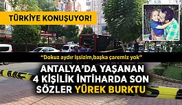 Türkiye konuşuyor! Bir aileyi yok eden intiharda son sözler yürek burktu