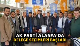 Ak Parti Alanya'da delege seçimleri başladı