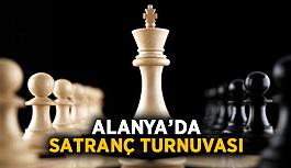 Alanya'da satranç turnuvası