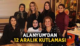 Alanyum'dan 12 Aralık kutlaması
