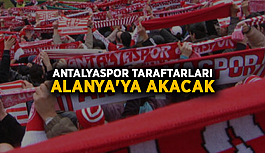 Antalyaspor taraftarları Alanya'ya akacak