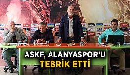 ASKF, Alanyaspor'u tebrik etti