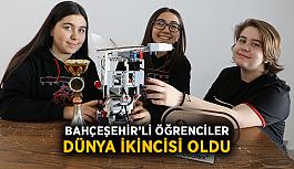 Bahçeşehir'li öğrenciler dünya ikincisi oldu