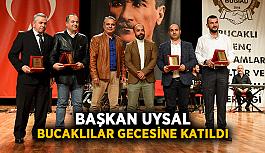Başkan Uysal, Bucaklılar gecesine katıldı