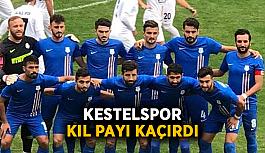 Kestelspor kıl payı kaçırdı
