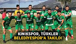 Kınıkspor, Türkler Belediyespor'a takıldı