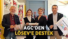 AGC'den LÖSEV'e destek