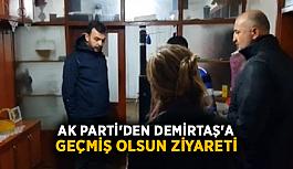 Ak Parti'den Demirtaş'a geçmiş olsun ziyareti
