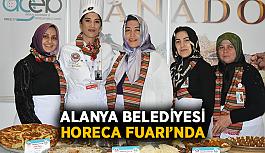 Alanya Belediyesi Horeca Fuarı'nda
