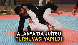Alanya'da Juitsu turnuvası yapıldı