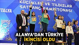 Alanya'dan Türkiye ikincisi oldu
