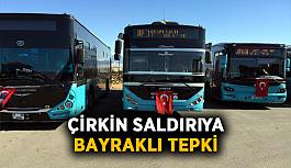 Antalya'da çirkin saldırıya bayraklı tepki