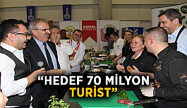 """Hedef 70 milyon turist"""