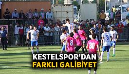 Kestelspor'dan farklı galibiyet