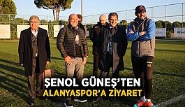 Şenol Güneş'ten Alanyaspor'a ziyaret