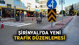 Şirinyalı'da yeni trafik düzenlemesi