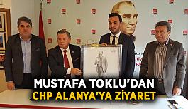Toklu'dan CHP Alanya'ya ziyaret