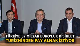 Türkiye 52 milyar Euro'luk bisiklet turizminden pay almak istiyor