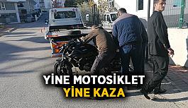 Yine motosiklet, yine kaza