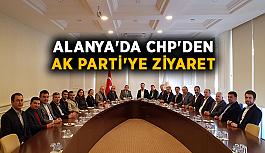 Alanya'da CHP'den Ak Parti'ye...