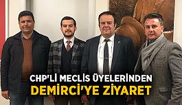 CHP'li meclis üyelerinden Demirci'ye ziyaret