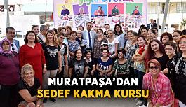 Muratpaşa'dan sedef kakma kursu