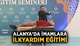 Alanya'da imamlara ilkyardım eğitimi