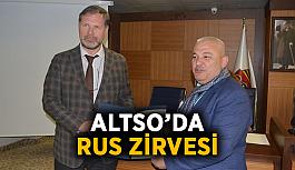 ALTSO'da Rus zirvesi